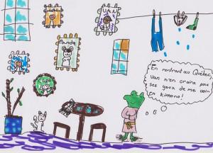 Élisabeth Gamache, 9 ans, Contrecoeur