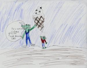 Émile Marcoux, 8 ans, Val-Morin