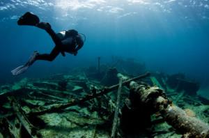 Devenir archéologue sous-marin