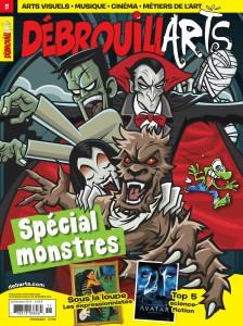 DébrouillArts novembre 2014 – Spécial monstres