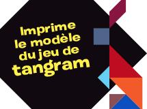 Imprime le modèle du jeu de tangram