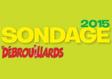 Sondage annuel Débrouillards 2015