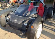 La voiture en 3D