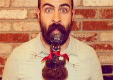 Rire de sa barbe