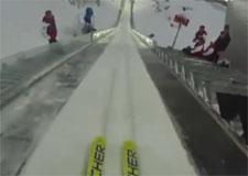 Arrêt sur image : Saut à ski