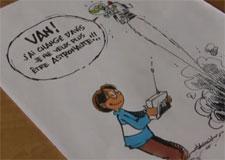 Viens voir Jacques Goldstyn dessiner Van l'inventeur!