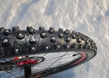 Faire du vélo en hiver avec un Fatbike
