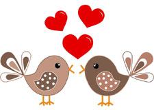 La Saint-Valentin des animaux