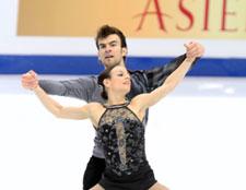 Deux Québécois champions du monde en patinage artistique