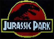 Écoute Jurassic Park en Lego