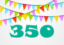 Notre 350e numéro!