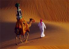 Cartographier le désert à dos de dromadaire