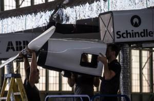 Le voyage s'arrête pour l'avion solaire