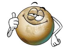 Salut, ici Pluton!