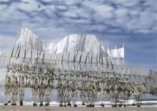 Des sculptures qui bougent au gré du vent!