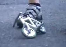 Comment résister au vélo de poche?