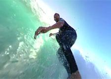 Une caméra à l'intérieur d'une vague!