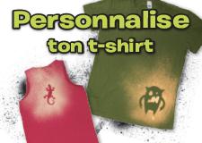 Trucs en vrac – Personnalise ton t-shirt