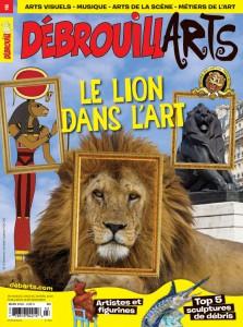 DébrouillARTS mars 2016 – Le lion dans l'art
