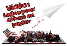 Vidéo: une machine en Lego qui fabrique des avions en papier !