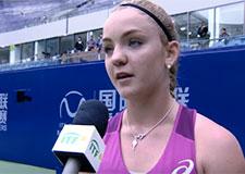 Une jeune joueuse de tennis québécoise se démarque