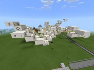 Des monuments historiques dans Minecraft