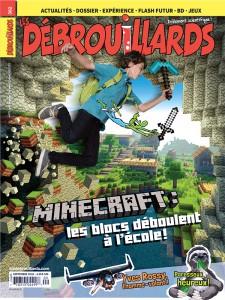 Septembre 2016 – Minecraft : les blocs déboulent à l'école!
