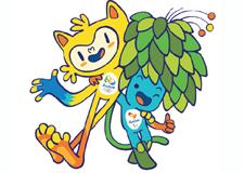 Rio et les mascottes des Jeux olympiques