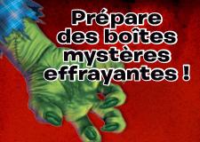 Trucs en vrac – Fais des boîtes effrayantes pour l'Halloween!