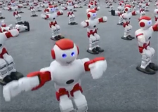 1 000 robots qui dansent!