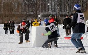 Joueras-tu au Yukigassen cet hiver ?