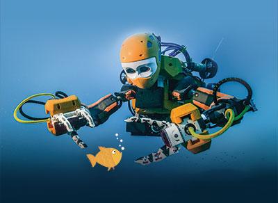 Le robot plongeur