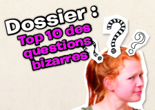 Top 10 : questions bizarres