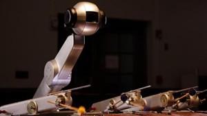 Shimon, le robot joueur de Marimba