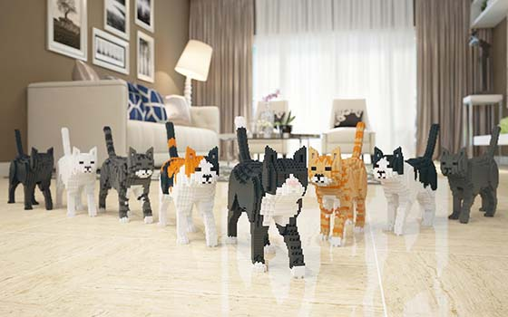 lego cats gang