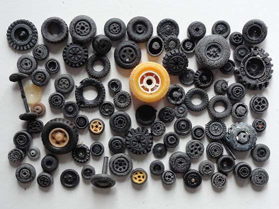 roues plastic500