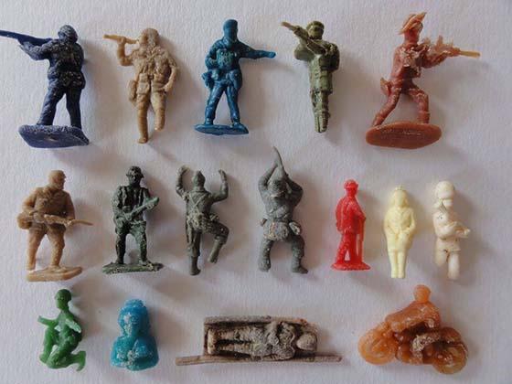 soldats plastic500