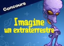 Imagine un extraterrestre (lecteurs/lectrices)