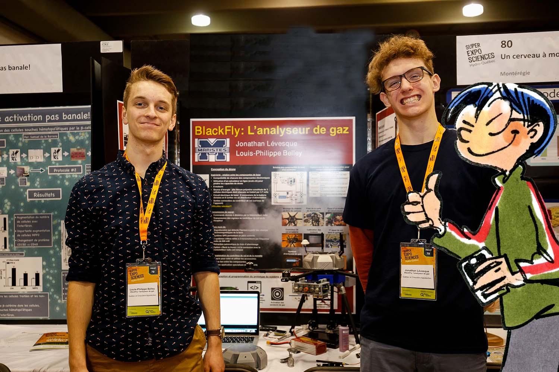 Trouvailles de Van : des trucs pour l'Expo-sciences