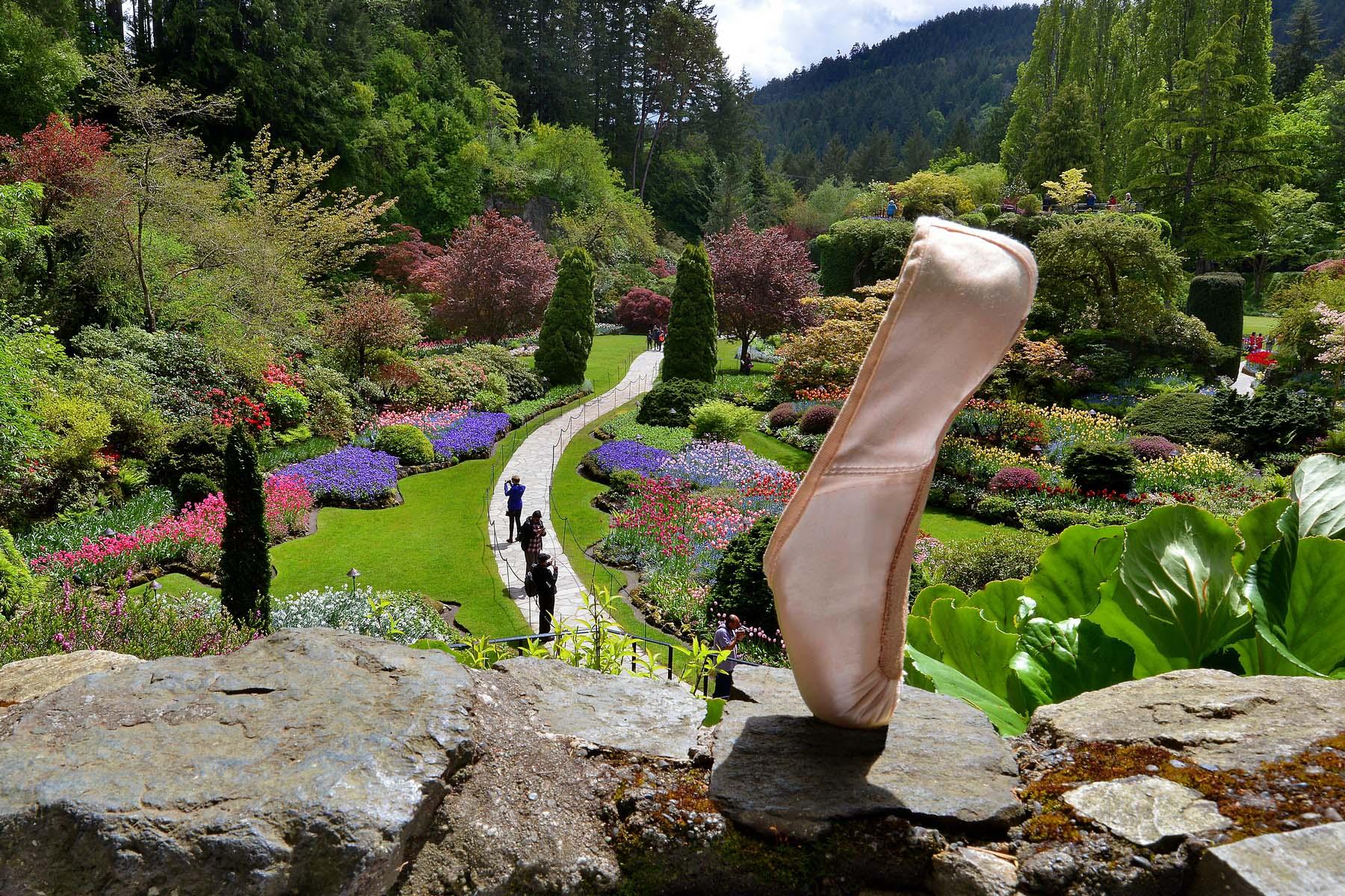 NBOC 150 Pointes - Butchart Garden British Columbia