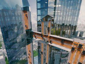Flash futur : l'ascenseur sur rail [vidéo]