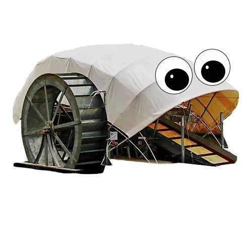 Mr. Trash Wheel : la poubelle flottante [vidéo]