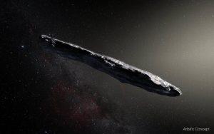 Un étrange astéroïde venu d'un autre système solaire