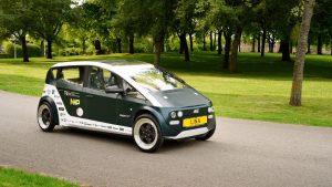 Une voiture 100% biodégradable