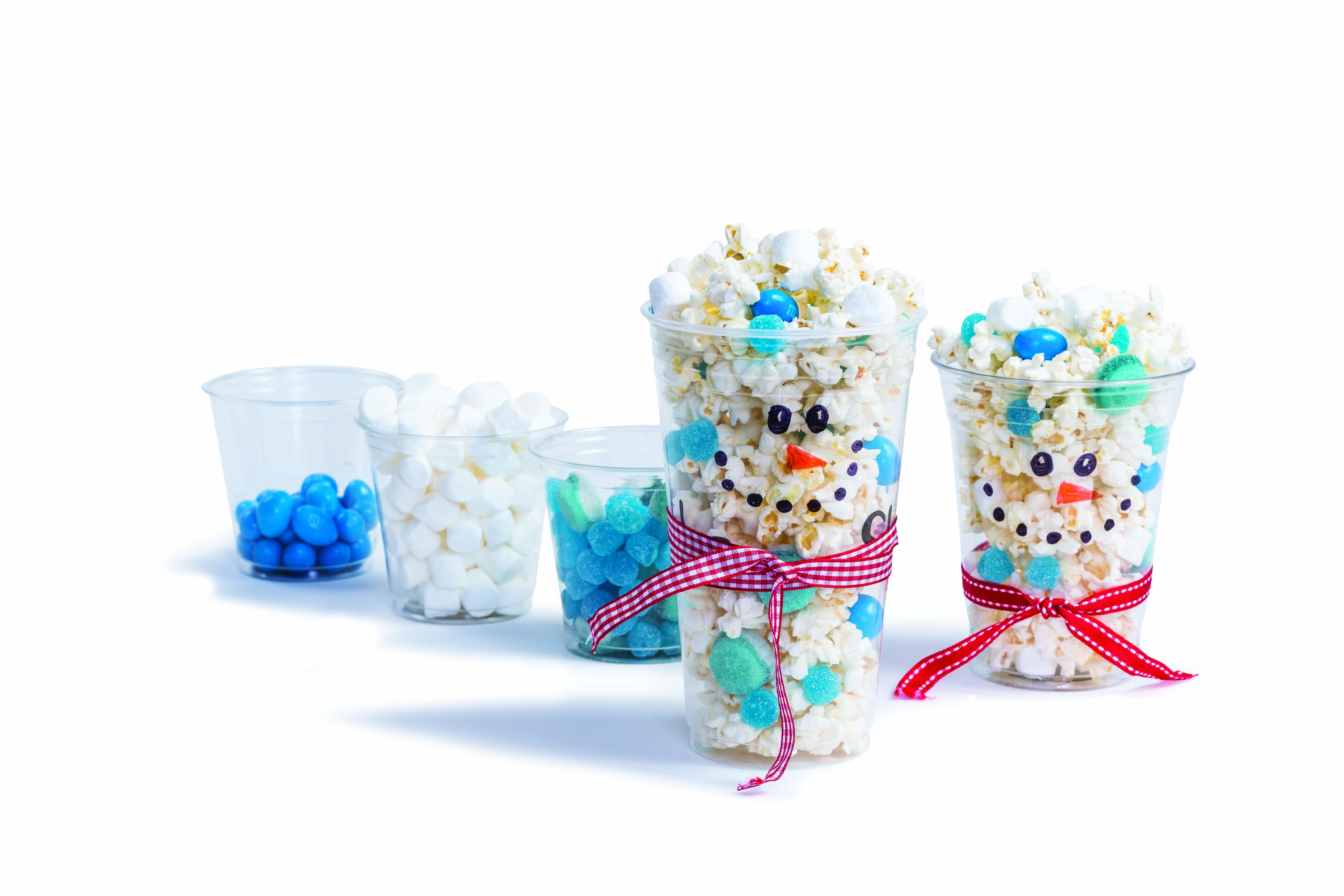 Popcorn et chocolat pour soirée cinéma