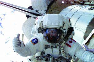 Du glak pour les astronautes