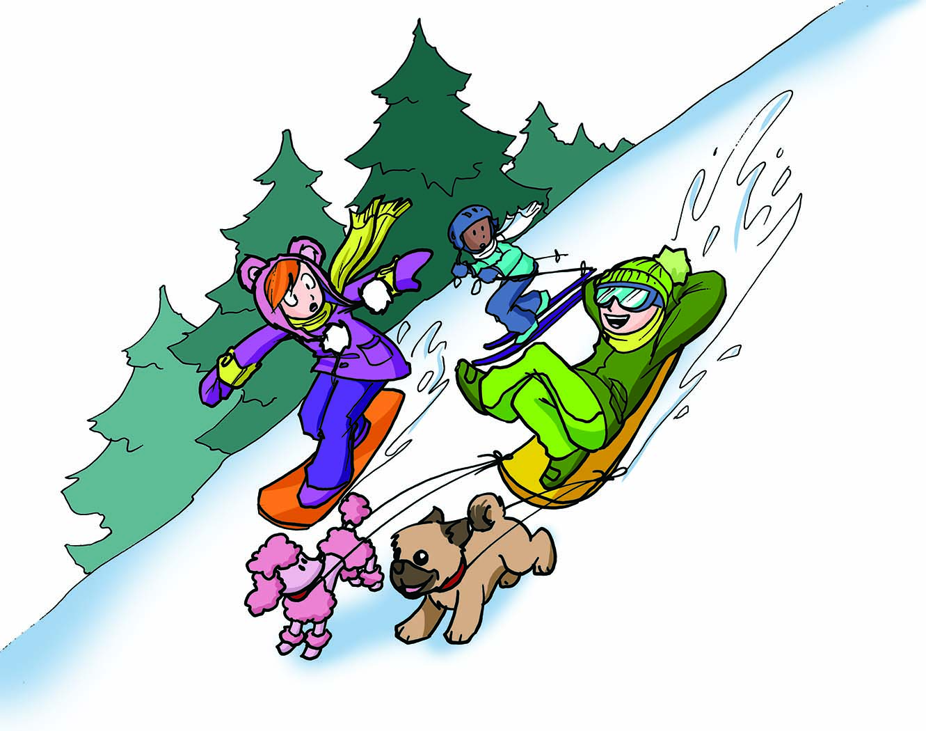 Quel genre de skieur ou planchiste es-tu?