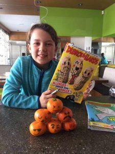 Naomi Gariépy, 8 ans, Montréal