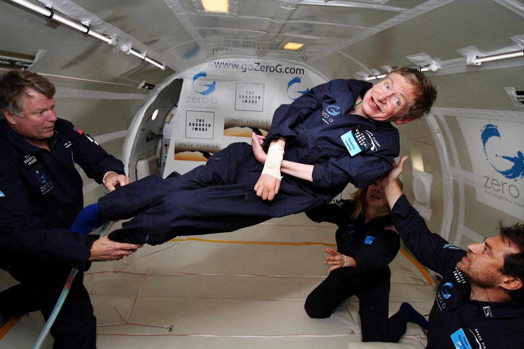 Ultime hommage pour Stephen Hawking