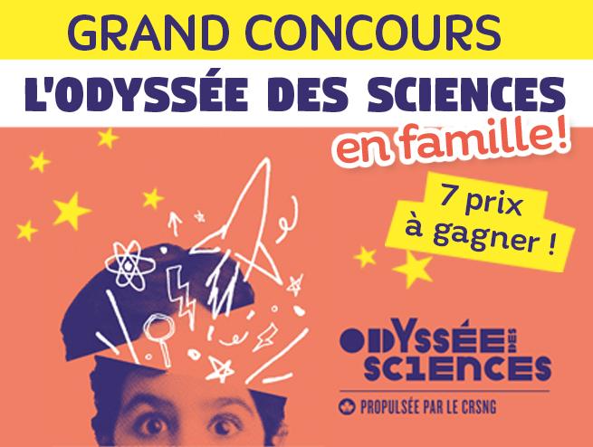 L'Odyssée des sciences en famille!